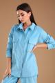 Рубашка Viola Style 1125 голубой
