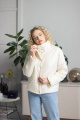 Куртка Sisteroom КД-013 молочный