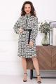 Платье Мода Юрс 2643 черно-белый_отделка2