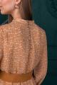 Платье Ambera 100 горчица