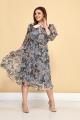 Платье ALEZA 1030 мультиколор