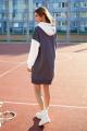 Платье Butеr 2266 антрацит