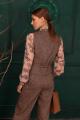 Жилет Ambera 126 коричневый