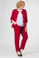 Женский костюм Swallow 388 красный