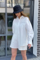 Рубашка Rawwwr clothing 286 белый