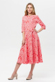 Платье BirizModa 21С0001 коралловый