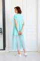 Платье Ivera 1036 бирюзовый