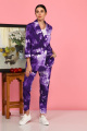 Женский костюм Karina deLux B-434Т фиолетовый