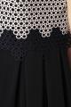 Платье Romanovich Style 1-2185 пудра\черный