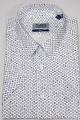 Рубашка Nadex 01-048021/501_170 бело-синий