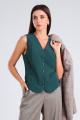 Жилет Viola Style 1127 зеленый
