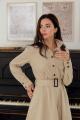 Платье LadisLine 1384 бежевый