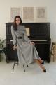 Платье LadisLine 1383 гусиная_лапка