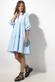 Платье VIZAVI 643 голубой
