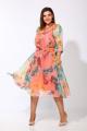 Платье Karina deLux М-9926 розовый_принт
