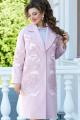 Пальто Vittoria Queen 14413 розовый