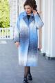 Пальто Vittoria Queen 14573 голубой
