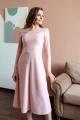 Платье Totallook 21-4-01 пудровый