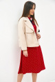 Комплект Магия моды 1963 беж+красный