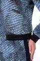 Юбка, Джемпер Мишель стиль 925/1 бежево-черный