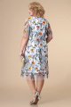Платье Romanovich Style 1-2181 белый/оранж