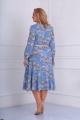 Платье AMORI 9542 голубой