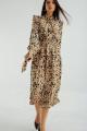 Платье MALI 421-068 бежевый