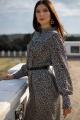 Платье MALI 421-088 леопард