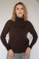 Свитер Subota new 16034 темно-коричневый(158/164)