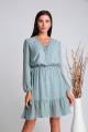Комплект Verita 2113 кремовый+серо-голубой
