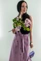 Юбка Legend Style S-009 пыльная-роза