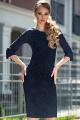 Платье Diva 1319 синий
