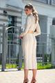 Платье Diva 1323-1 бежевый
