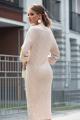 Платье Diva 1325-1 бежевый