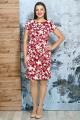 Платье Белтрикотаж 6254 красный