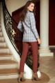 Женский костюм AYZE 2148 мультиколор/коричневый