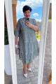Платье Vittoria Queen 14243/1 хаки