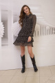 Платье Condra 4306 коричневый