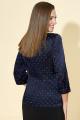 Жакет DaLi 3246 синий-горох