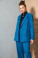 Женский костюм SOVA 11147 темно-голубой