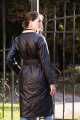 Пальто Prestige 4253/170 черно-бежевый