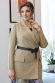 Женский костюм Мода Юрс 2651 беж_лён