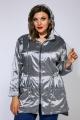 Куртка Anastasiya Mak 876 серебряный