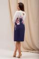 Платье Angelina 6502 розовые-цветы