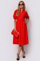 Платье PATRICIA by La Cafe F14909 красный