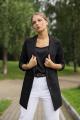 Жакет YFS 308 черный
