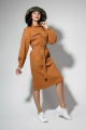 Платье YFS 6141 горчичный
