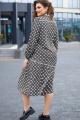 Платье Vittoria Queen 14173 диз.цветы_зеленый