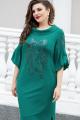 Платье Vittoria Queen 14293/1 зеленый(бутылка)