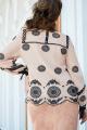 Блуза, Юбка Vittoria Queen 14633 беж/черный